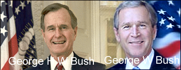 bush father and son relationship