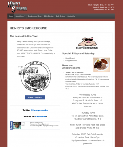 Henry's Smokehouse