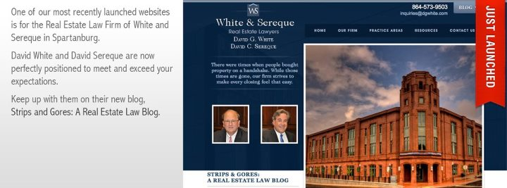 White & Sereque – Launches New Website