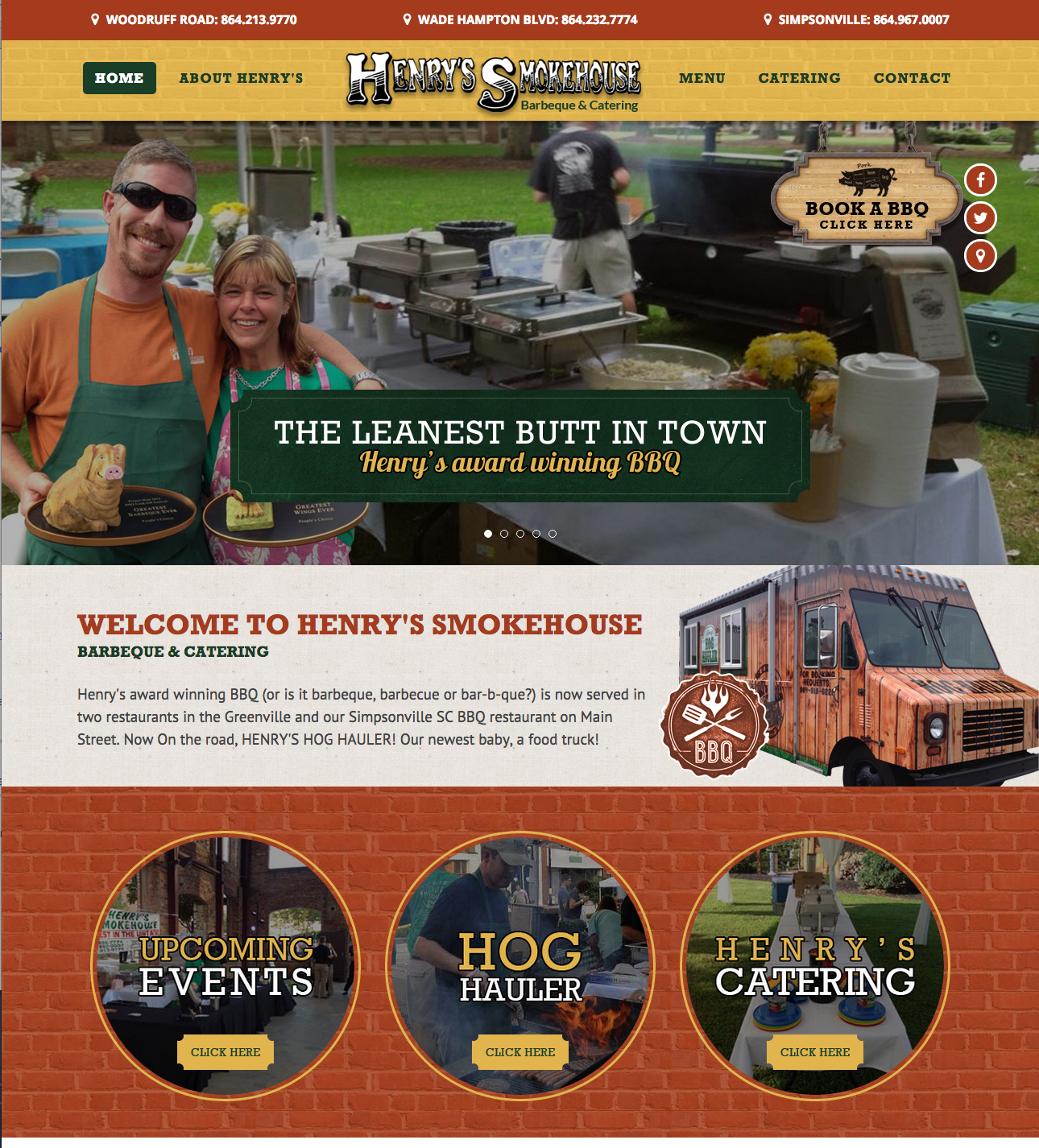Henry's Smokehouse Launches New Website