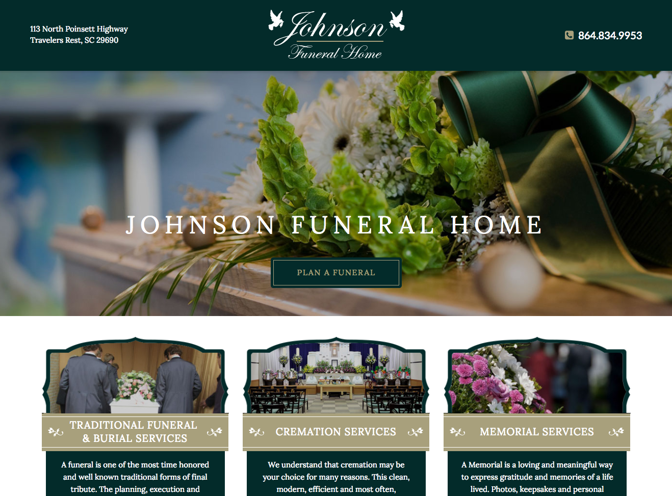 funeral home website | Swift Business Solution