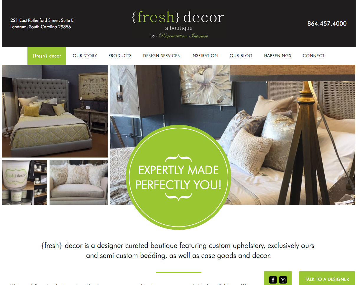 {fresh} decor | Swift Client Testimonial